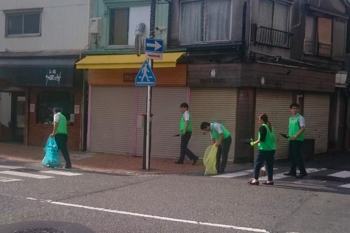 第109回清掃活動 野毛商店街