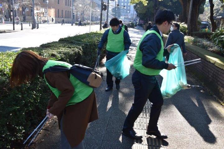 武松商事 清掃活動