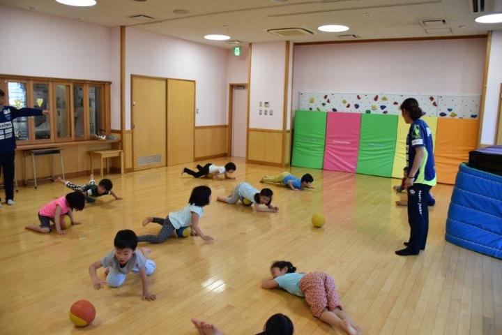 運動教室開催 武松商事