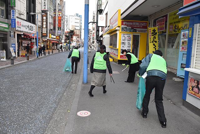 清掃活動風景2