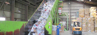 鳥浜古紙リサイクル工場