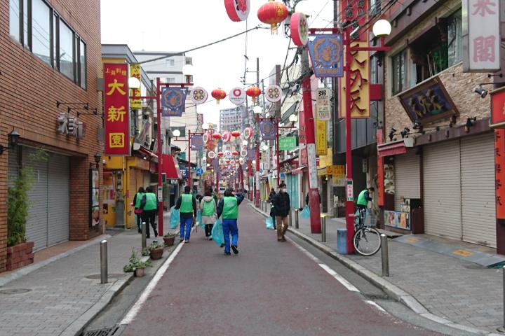 第102回清掃活動 中華街 春節