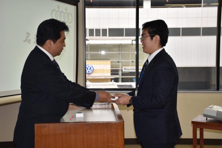 2016年度武松グループ入社式 新入社員 11名