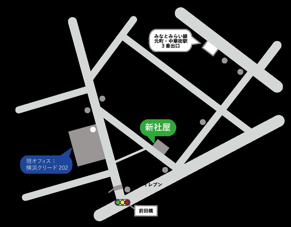 武松商事 新社屋 移転先 地図