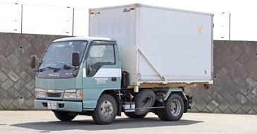 医療系廃棄物専用運搬車